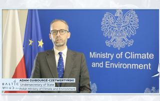 Guibourgé-Czetwertyński, Undersecretary of State Polish Ministry of Climate and Environment