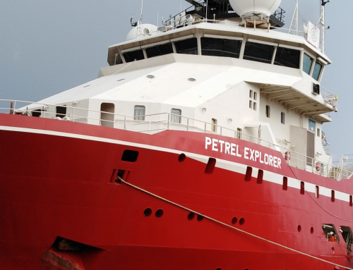 The contract for Petrel Explorer for works in the Baltic Sea was extended once again