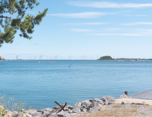 The first electricity from the Utposten 2 wind farm could flow in 2025